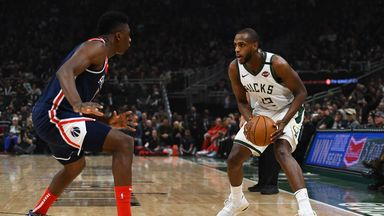 NBA Wk15: Wizards 131-151 Bucks
