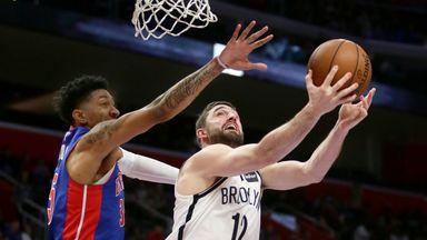 NBA Wk14: Nets 121-111 Pistons (OT)