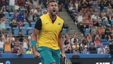 Kyrgios stars as Australia beat GB