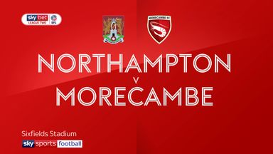 Northampton 4-1 Morecambe