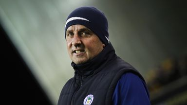 Paul Cook on Wigan's fine form