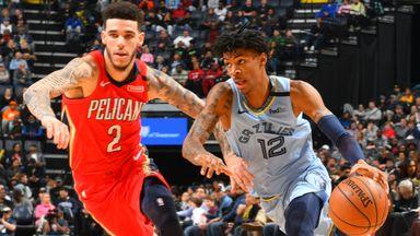 NBA Wk14: Pelicans 126-116 Grizzlies