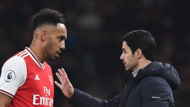 Arteta: No contract talks with Auba yet