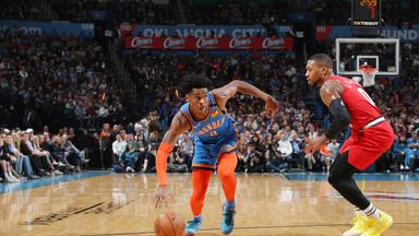 NBA Wk13: Trail Blazers 106-119 Thunder