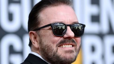 Gervais' message to Burrow