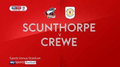Scunthorpe 2-2 Crewe