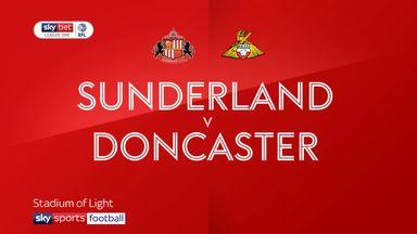 Sunderland 0-0 Doncaster