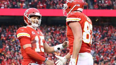 Mahomes magic gives Kelce third TD