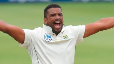 Philander's difficult day at Wanderers