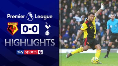 Deeney pen saved in Spurs stalemate