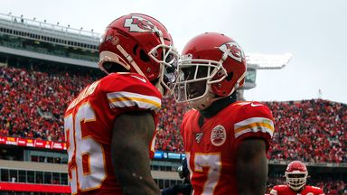 Chiefs punish Texans with seven TDs!