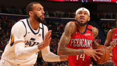 NBA Wk13: Jazz 132-138 Pelicans (OT)