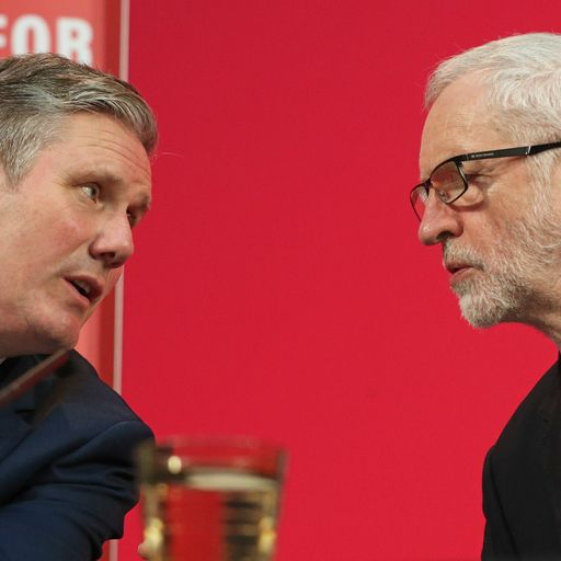 Analysis: Keir Starmer has triggered a civil war with the left