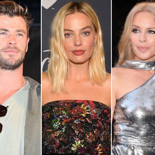 Australian bushfires: Chris Hemsworth, Kylie and Margot Robbie among stars donating millions to help
