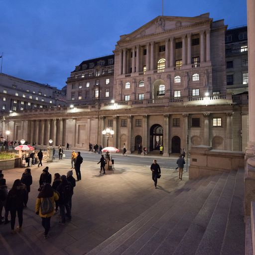 Bank of England leaves rates unchanged but has a sober message for the PM