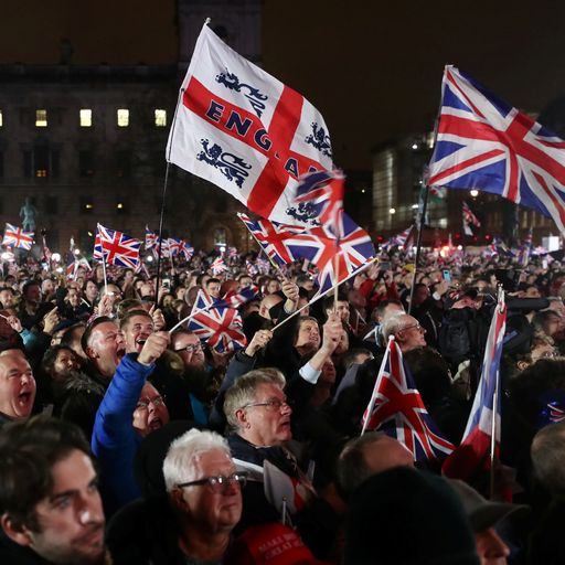 Brexit day: Celebration and regret as Britain leaves EU after 47 years