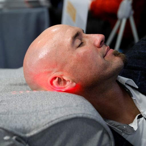 CES 2020: Anti-snore pillows and tiny security systems on show