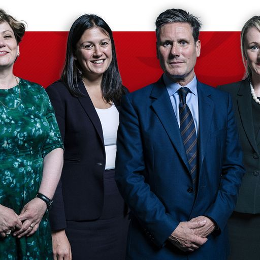 Labour leadership: Sky News to host live debate with contenders