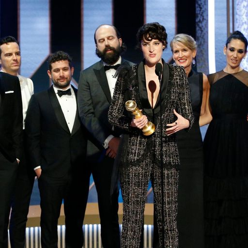 Golden Globes: British stars including Phoebe Waller-Bridge and Olivia Colman triumph