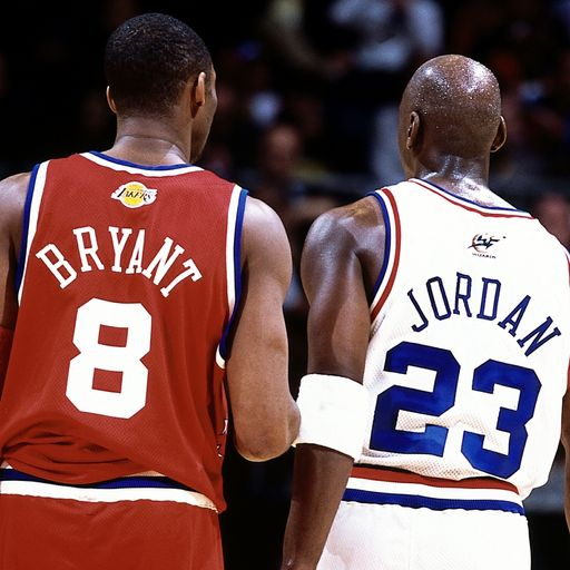 Michael Jordan leads tributes 'one of the greats' Bryant