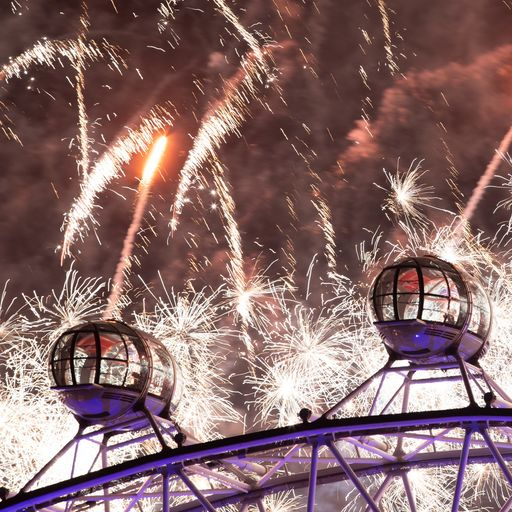 'The best fireworks London has ever seen'