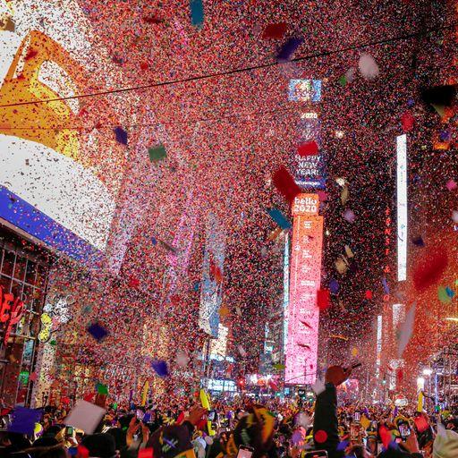 Paris, New York, Rio, Dubai - how the world welcomed 2020