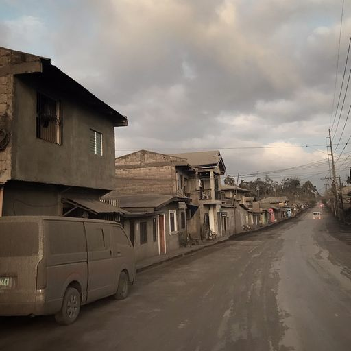 Eyewitness: Villages blanketed by ash as thousands flee