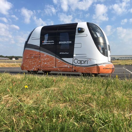 Driverless, autonomous transport pods begin UK public trials