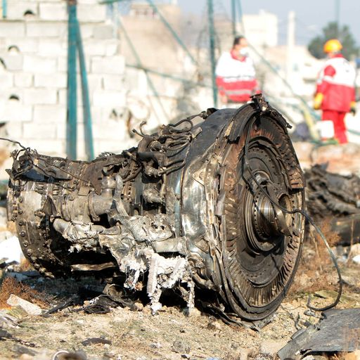 Iran admits it 'unintentionally' shot down Ukrainian passenger jet with short-range missile