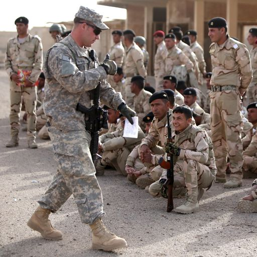 Letter saying US troops will pull out of Baghdad was 'an honest mistake'