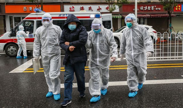 China coronavirus: Anger among Britons stranded in epicentre Wuhan
