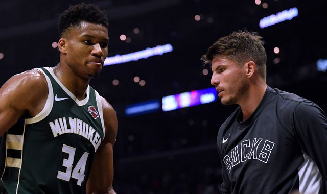Giannis Antetokounmpo's relentlessness sets tone for Milwaukee Bucks, says team-mate Kyle Korver