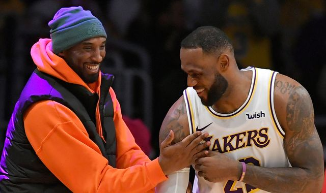 'Heartbroken' LeBron James says he will continue Kobe Bryant's 'legacy'