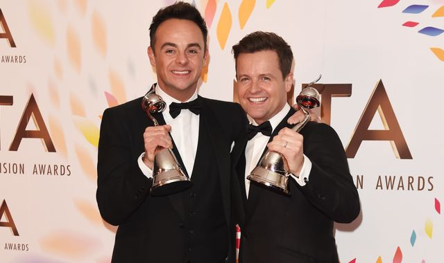 Ant and Dec win best presenter award at NTAs for 19th year running