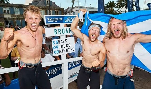 British brothers set world record for rowing Atlantic Ocean