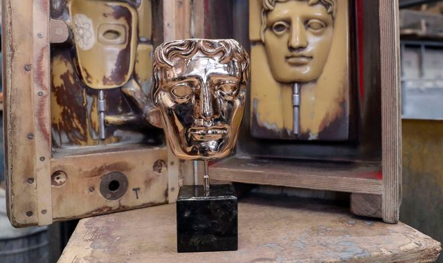 BAFTA award was 'thrown at winner's spouse', trophy maker reveals