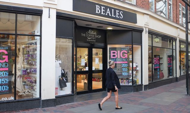 Department store chain Beales goes into administration