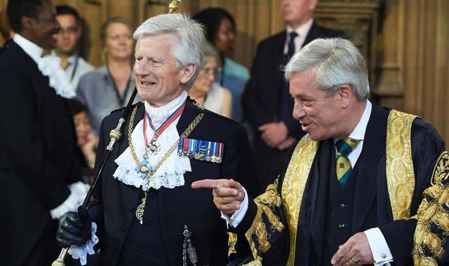 Former Speaker John Bercow 'brutalised Commons staff', says ex-Black Rod