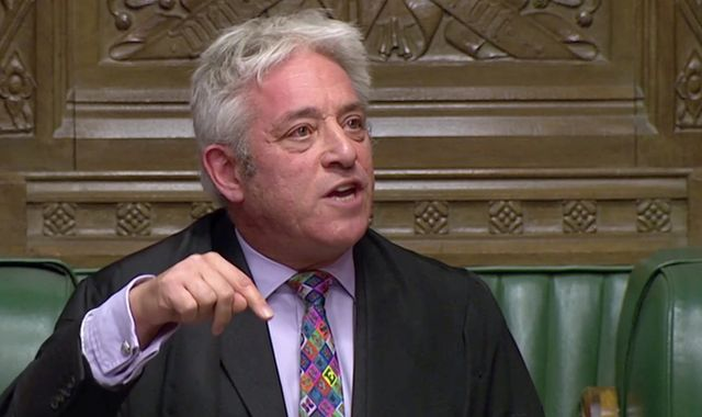 John Bercow, former Commons speaker, 'nominated for peerage by Labour'