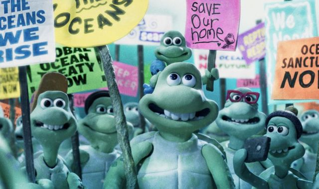 Helen Mirren and Olivia Colman voice turtles in 'heartbreaking' Greenpeace film