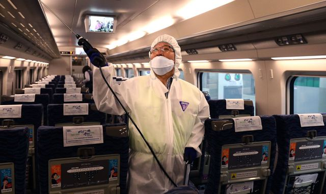 Deadly coronavirus may already be in UK - top doctor warns