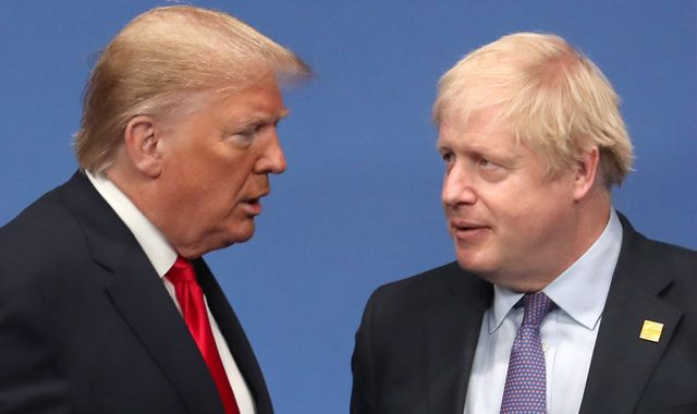 Coronavirus: Donald Trump wishes Boris Johnson 'speedy recovery' after positive test