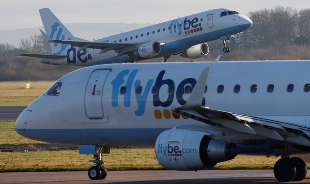 Flybe: Javid tells Ryanair chief rescue deal 'was not state aid'