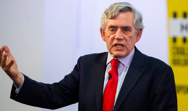 Gordon Brown calls for 'constitutional revolution' to prevent break-up of UK