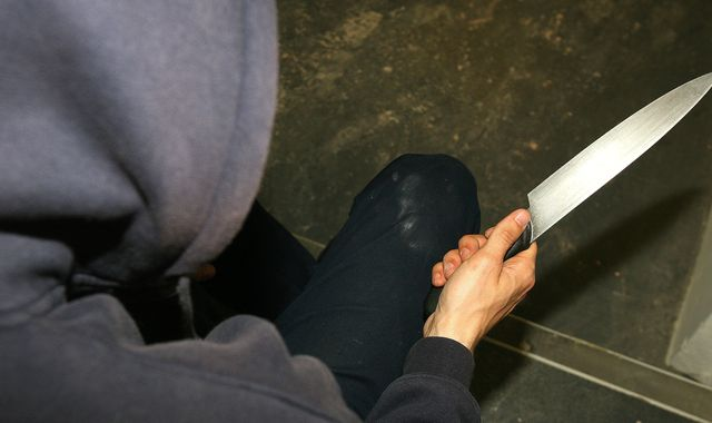 Highest number of knife crimes in a decade, new figures show