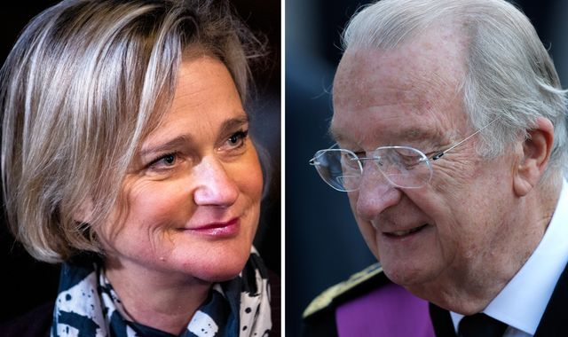 Ex King of Belgium finally admits he fathered a  daughter during extra-marital affair