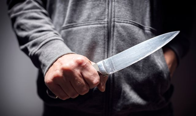 Knife crime offences hit record high after 7% increase