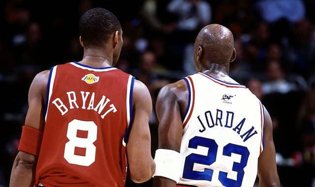 Kobe Bryant: Michael Jordan leads tributes to 'one of greatest players of his generation'