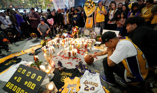 Kobe Bryant: Los Angeles is in a state of disbelief as world robbed of basketball icon's 'second act'