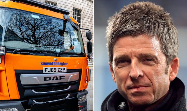Snowel Gallagher and Gritter Thunberg among names chosen for new fleet of salt spreaders